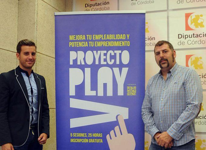 El proyecto Play oferta acciones formativas para mejorar la empleabilidad de los jóvenes