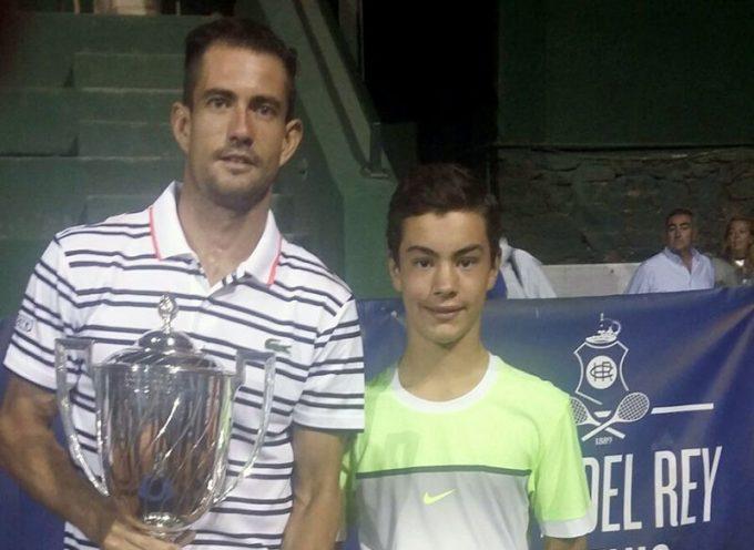 Blas Ruiz, del Club Tenis Pozoblanco, se adjudica la Copa del Rey para Promesas en Huelva