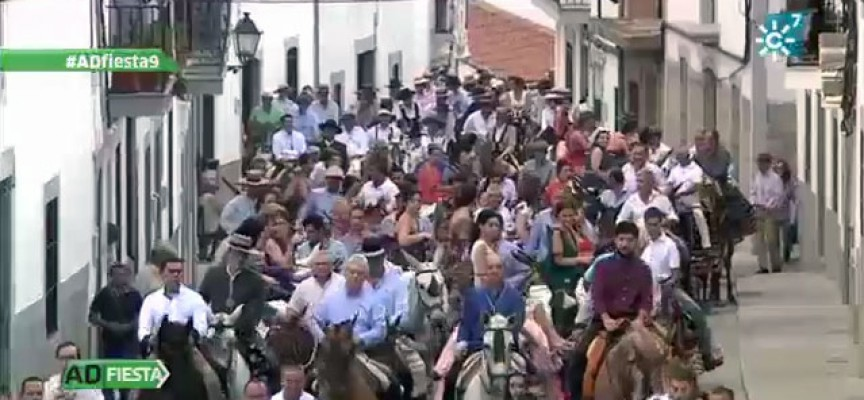 Los Piostros de Pedroche en 'Andalucía de Fiesta' [vídeo]