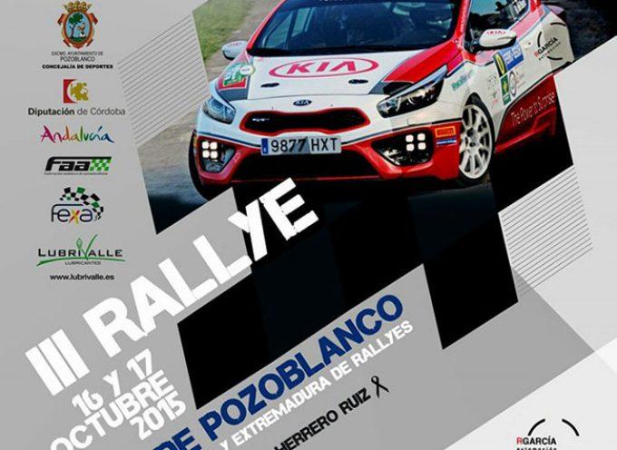 Presentación en Villanueva de Córdoba del III Rallye Ciudad de Pozoblanco [vídeo]