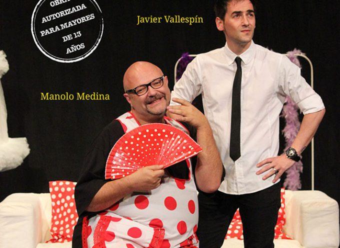La comedia 'Dos hombres solos sin punto com… ni ná' visita Los Pedroches