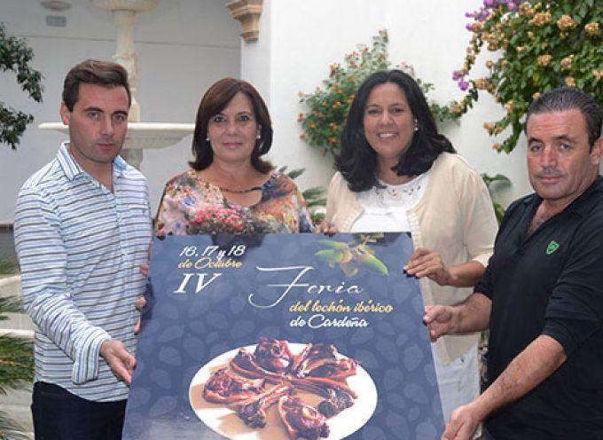 Presentada en Diputación la Feria del Lechón Ibérico de Cardeña