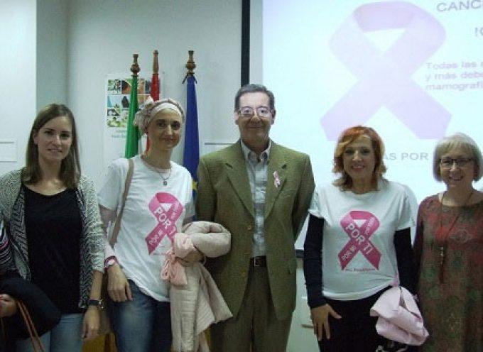 El Área Sanitaria Norte de Córdoba ha impartido varias conferencias sobre el cáncer de mama