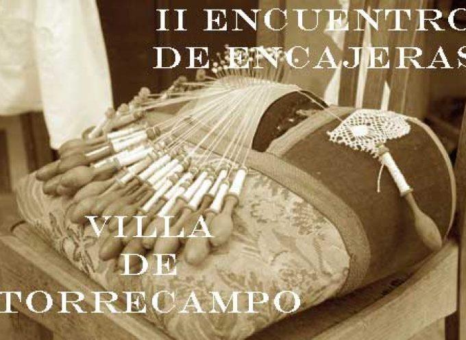 Encuentro de encajeras en Torrecampo