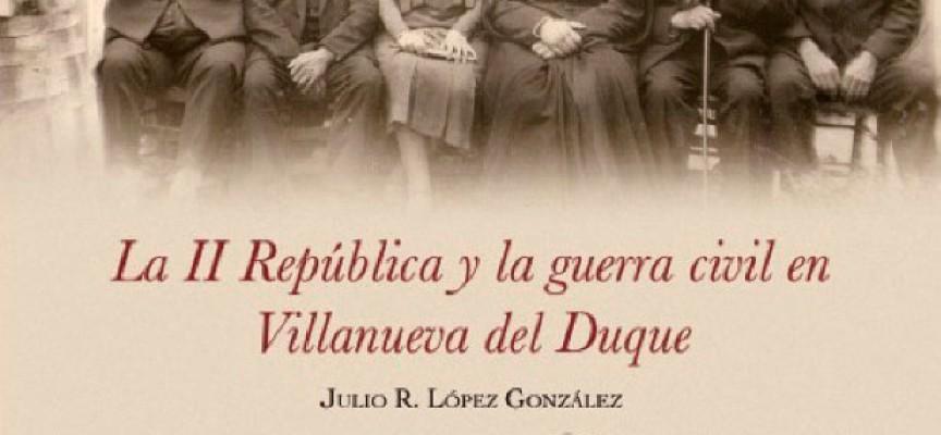 Julio López presentó su libro sobre Villanueva del Duque en Pozoblanco [vídeo]