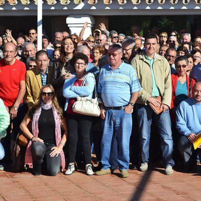 Encuentro de mayores de la Zona de Trabajo Social de Pozoblanco en el albergue de Cerro Muriano
