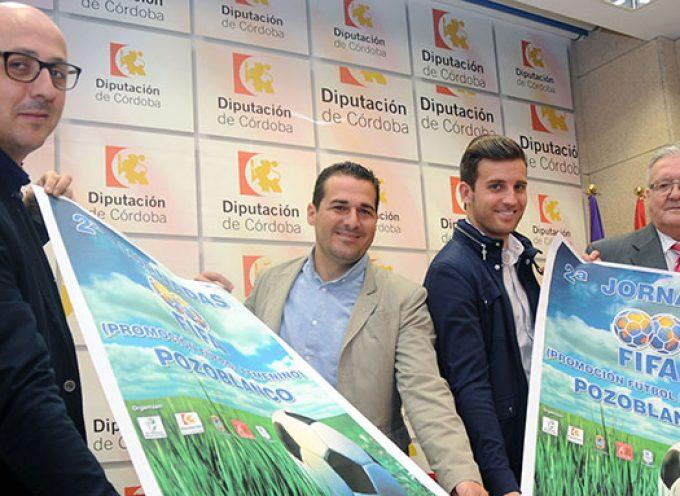 La Diputación de Córdoba respalda las II Jornadas FIFA de promoción del fútbol femenino en Pozoblanco