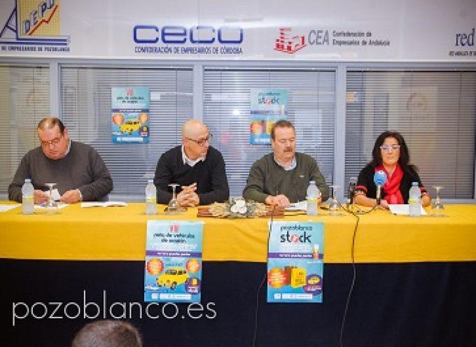 'Pozoblanco Stock' y la 'VIII Feria de Vehículos de Ocasión' en Pozoblanco