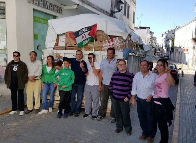 Comida y mantas para el pueblo saharaui desde Villanueva de Córdoba