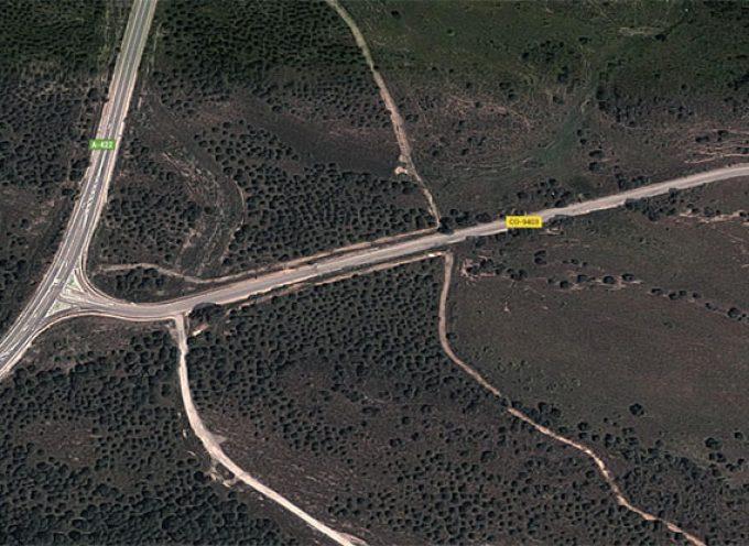 Proyecto de reparación parcial de la carretera de la estación de Belalcázar