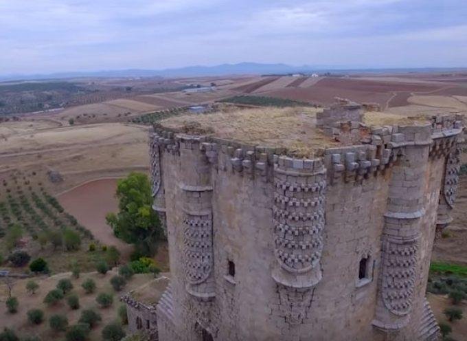 El castillo de Belalcázar a vista de dron [vídeo]