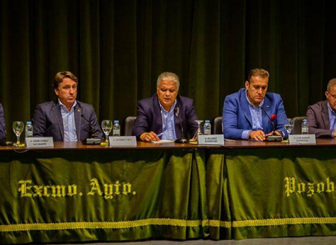 Celebrada en Pozoblanco una mesa redonda para hablar de fútbol