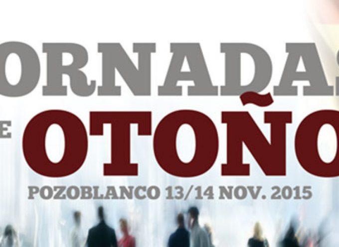 Temas de sociedad, economía, cultura y antropología en las Jornadas de Otoño de Pozoblanco