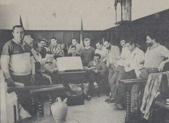 1988, cuando los alcaldes de Los Pedroches se unieron