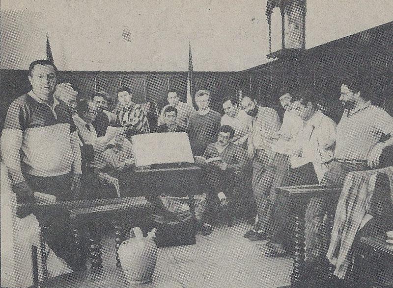 Protesta de alcaldes de Los Pedroches en 1988
