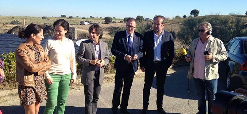 La Junta invierte 2'1 millones de euros en la clausura y sellado del vertedero de la Mancomunidad de Los Pedroches