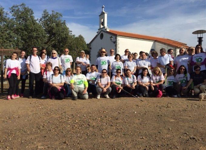 El Área Sanitaria Norte de Córdoba celebra una ruta de senderismo y un torneo de pádel