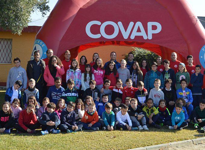 Medio centenar de niños disfrutan del 3º Campus COVAP de Invierno en Granada