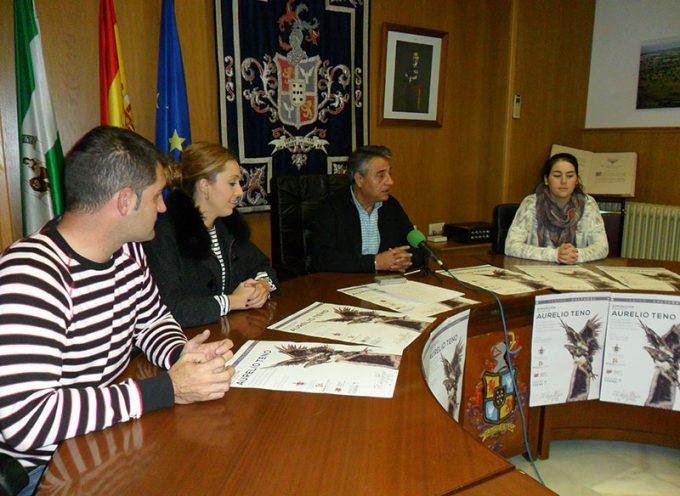 Presentación de la exposición 'Reencuentro con Aurelio Teno' en Hinojosa del Duque [vídeo]