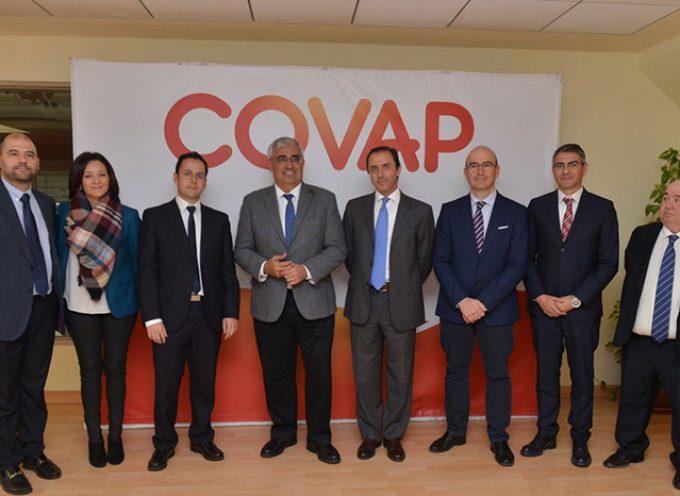 El Consejero de Economía resalta el impulso de Covap en el crecimiento de las exportaciones de alimentos