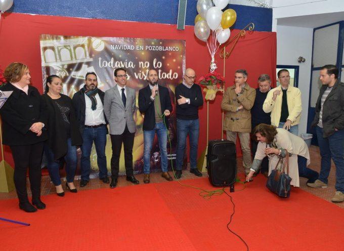 Inaugurado el Mercado Navideño de Pozoblanco con 35 puestos, música en directo y zona infantil