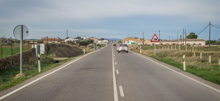 Licitadas las obras de seguridad vial en la A-422, entre Alcaracejos e Hinojosa del Duque
