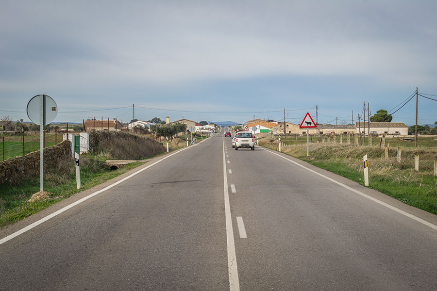Carretera Alcaracejos - Vva del Duque