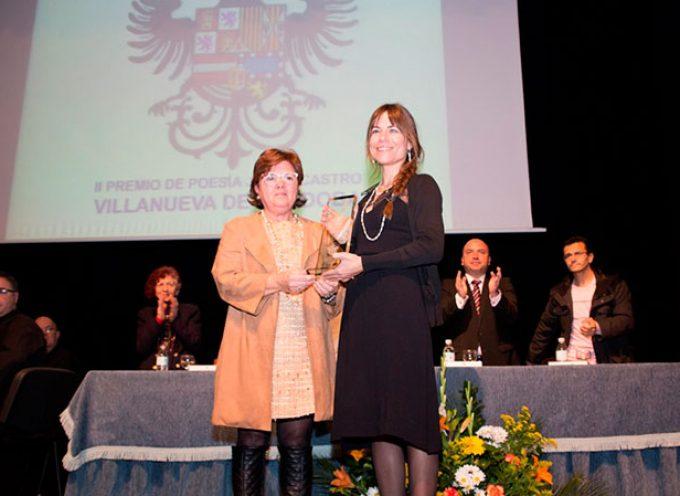 Nieves Muriel recoge el II Premio Juana Castro