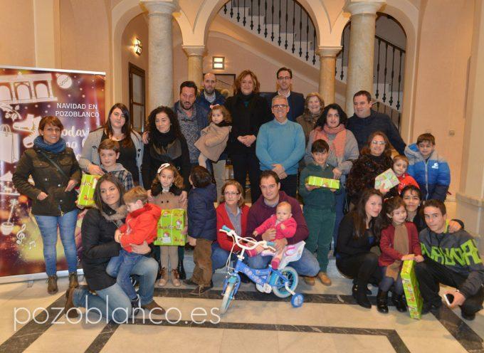 Entregados en Pozoblanco los regalos del concurso de cartas al Rey Melchor