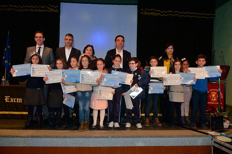 Entregados en Pozoblanco los premios del concurso infantil 'La voz de la lectura'