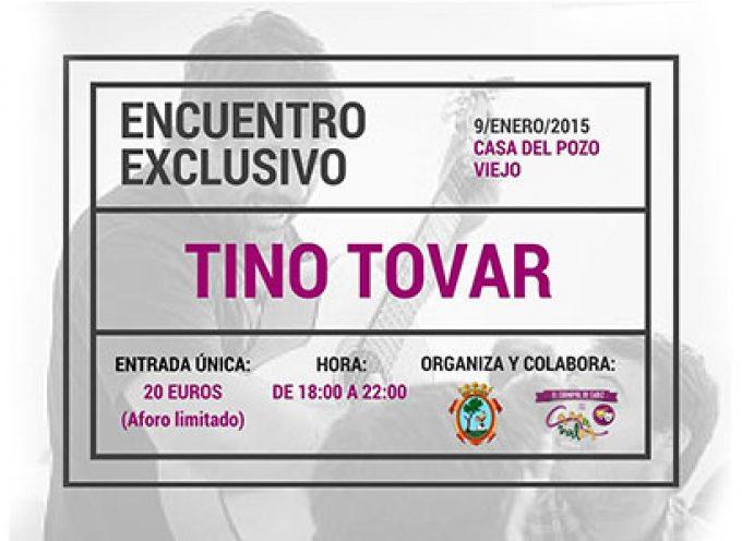 Encuentro con Tino Tovar en Pozoblanco para hablar de carnaval