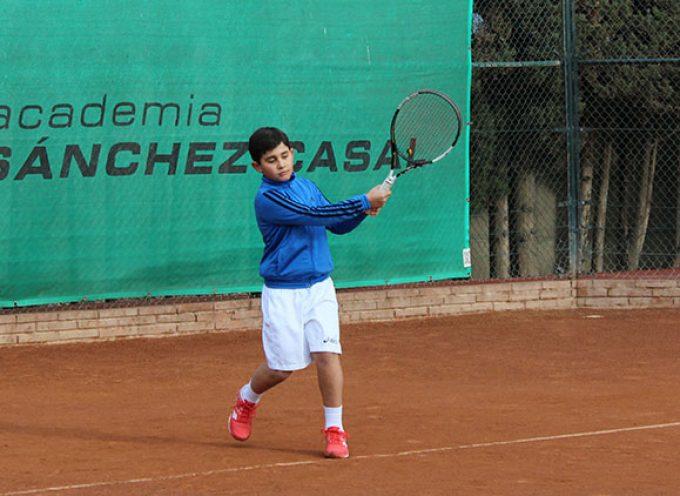 El joven tenista Alejandro López alcanza las semifinales del IBP Uniuso by Wilson Sub 10