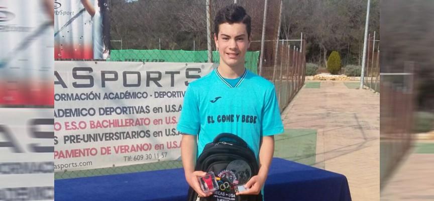 El tenista Blas Ruiz se adjudica el primer torneo del V Grand Slam 2016 en categoría Infantil