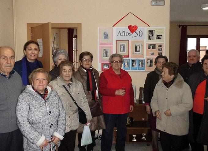 Los mayores de Villanueva de Córdoba celebran San Valentín recordando el 'Sí, quiero'