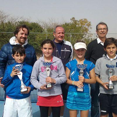 El joven tenista pozoalbense Alejandro López se adjudica Los Califas en Montilla