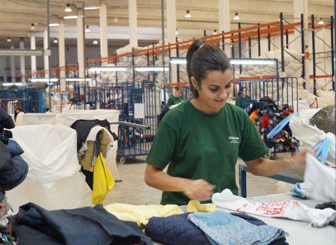 Los vecinos de Pozoblanco donaron a Humana 27 toneladas de textil usado