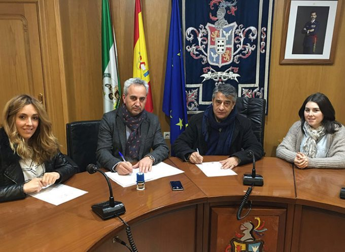 El Diputado Provincial de Cooperación con los Municipios visitó Hinojosa del Duque [vídeo]
