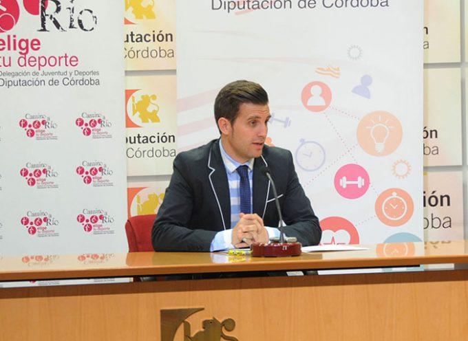 Diputación fomenta el deporte olímpico entre escolares en Hinojosa del Duque