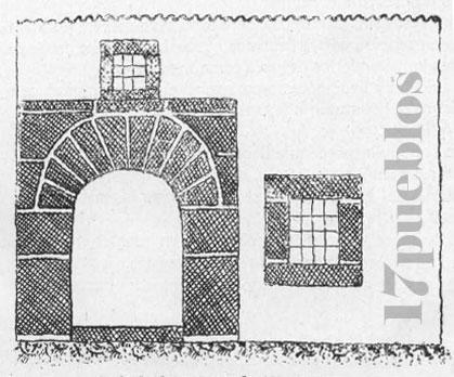 Fachada de una casa de Alcaracejos