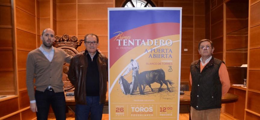 Un tentadero público con la escuela taurina de Córdoba abre la temporada en Los Llanos