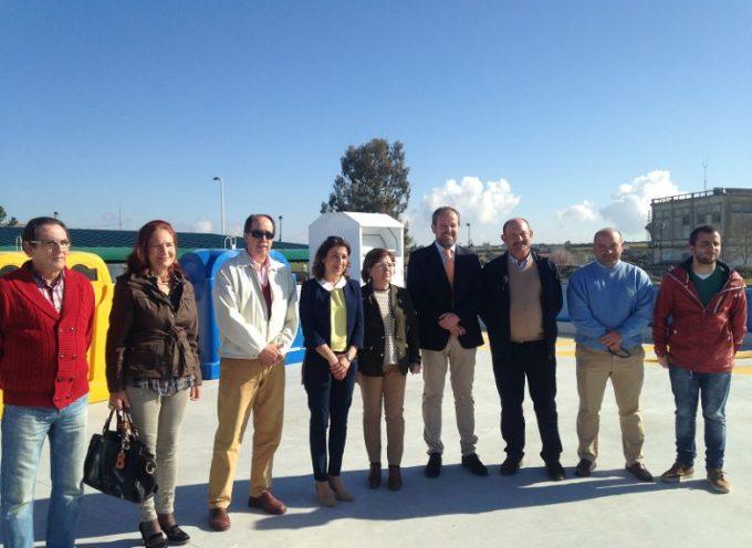 La Junta ha invertido 286.800 euros en el Punto Limpio de Villanueva de Córdoba