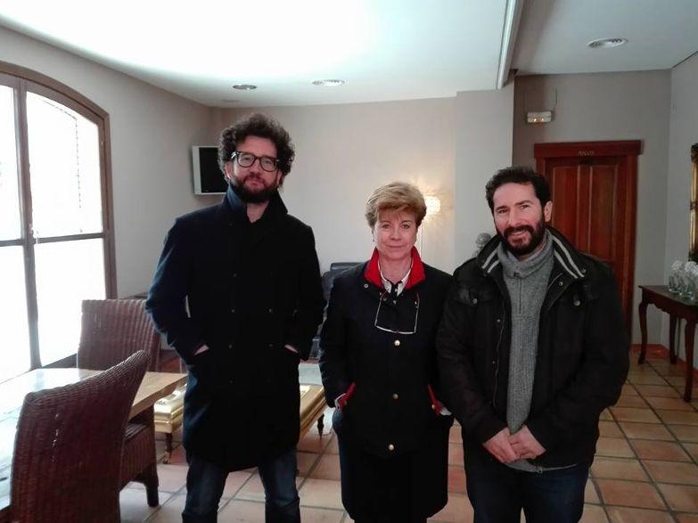 Reunión Que pare el tren en Los Pedroches y Podemos Córdoba