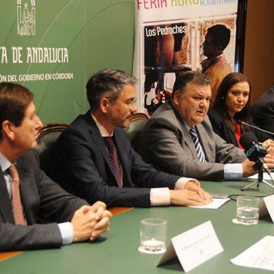 La Diputación muestra su respaldo a la Feria Agroganadera y Agroalimentaria del Valle de Los Pedroches