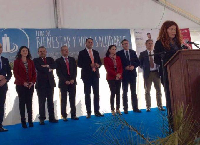 El consejero de Turismo y Deporte ha inaugurado la I Feria de Bienestar y Vida Saludable
