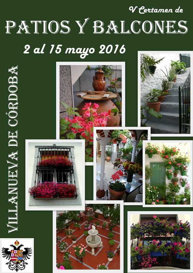 V Certamen de Patios y Balcones de Villanueva de Córdoba