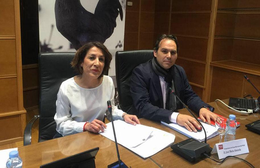 Rueda de prensa PSOE de Pozoblanco