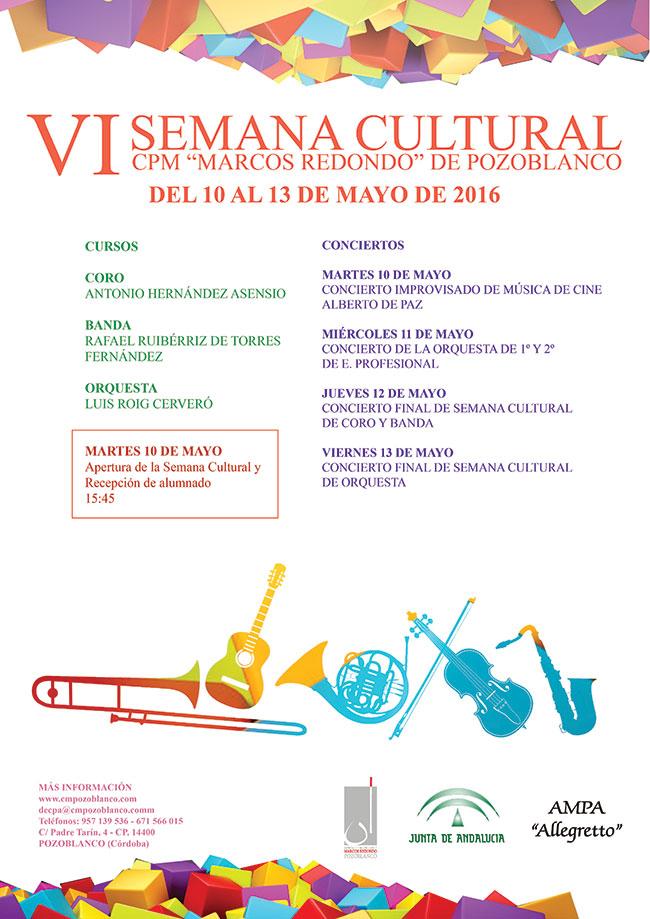 Semana Cultural Conservatorio