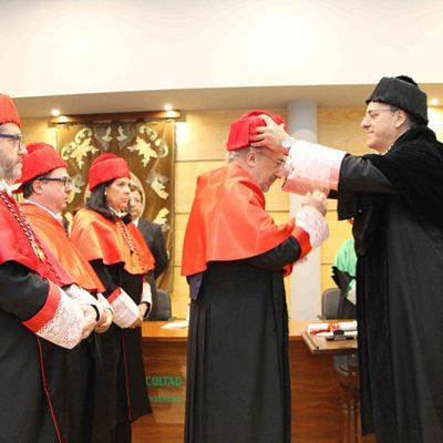 Santiago Muñoz Machado recibe el título Honoris Causa por la Universidad de Extremadura