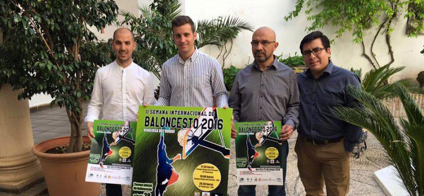 La II Semana Internacional de Baloncesto en Hinojosa del Duque