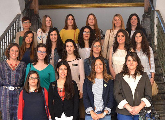 Mujeres de Los Pedroches se han acogido a un programa de becas para prácticas profesionales